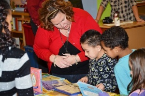 Kelly Gonzalez helps kids make their choice