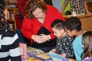 Kelly Gonzalez helps kids make their choice