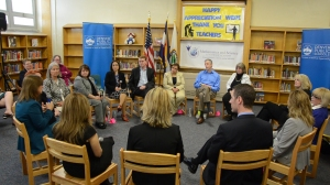 MSLA roundtable discussion with U.S. Education Secretary Arne Duncan, May 9