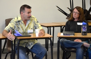 Bill Johnson finds shared interests in Edcamp discussion
